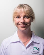 Lizzie Kenny (MSc, SRP, MCSP)
