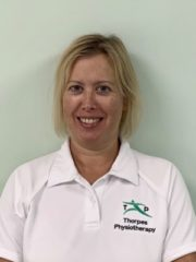 Claire Richards BSc, MCSP, HCPC, AACP